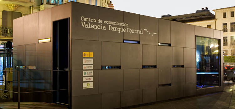 PABELLÓN EFÍMERO VALENCIA PARQUE CENTRAL